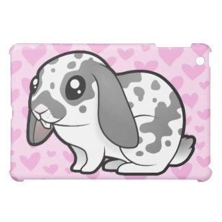 Rabbit Love (floppy ear smooth hair) Case For The iPad Mini