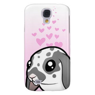 Rabbit Love (floppy ear smooth hair) Galaxy S4 Case
