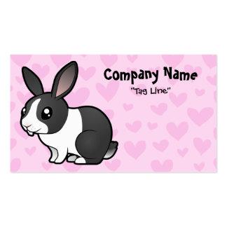 Rabbit Love uppy ear smooth hair Business Cards
