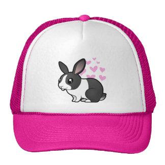 Rabbit Love (uppy ear smooth hair) Cap