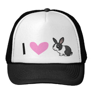 Rabbit Love (uppy ear smooth hair) Cap