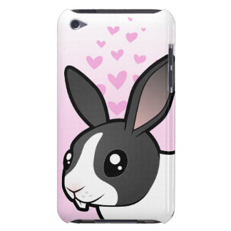Rabbit Love (uppy ear smooth hair) iPod Touch Cases