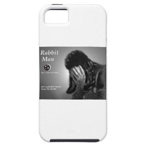 Rabbit Man iPhone 5/5S Cases