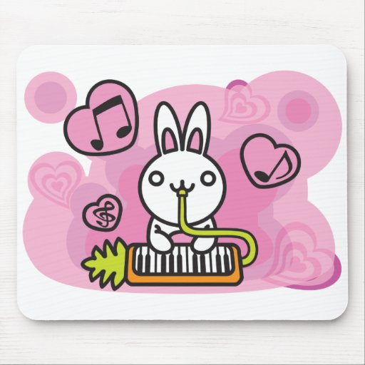 Rabbit_Method Mouse Pads