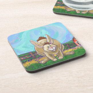 Rabbit Party Center Coaster