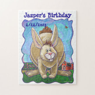 Rabbit Party Center Jigsaw Puzzle
