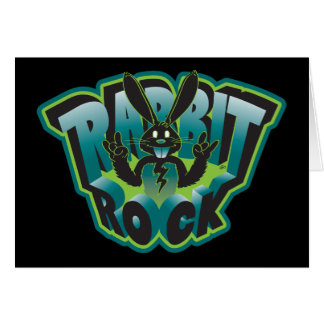 Rabbit Rock Card