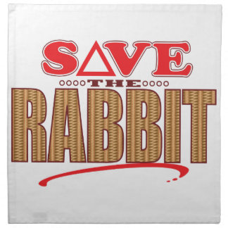 Rabbit Save Napkin