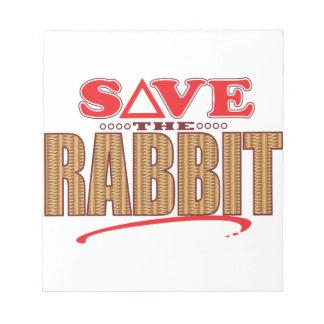 Rabbit Save Notepad