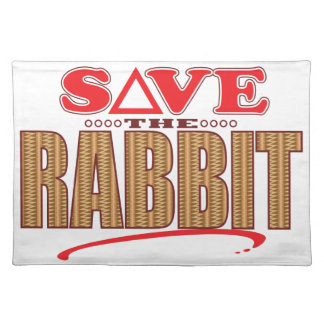 Rabbit Save Placemat