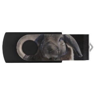 Rabbit Swivel USB 2.0 Flash Drive