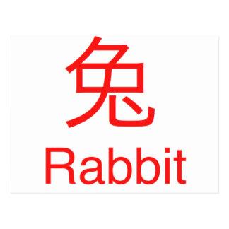 Rabbit Symbol Postcards