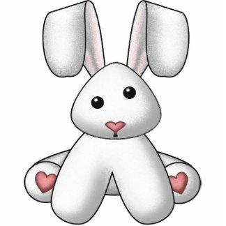Rabbit Wall Sculpture Standing Photo Sculpture