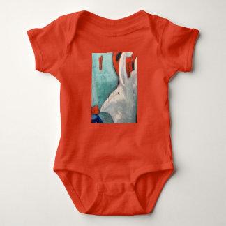Rabbit We're All Mad Here Alice in Wonderland Baby Bodysuit