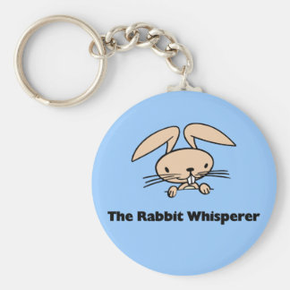 Rabbit Whisperer Key Chains