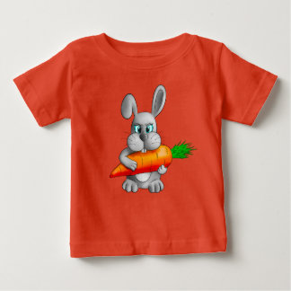 Rabbit with a carrot baby T-Shirt