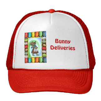 Rabbit with Easter gifts Cap
