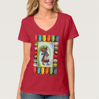 Rabbit with Easter gifts T-Shirt