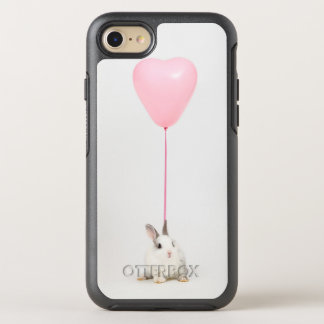 Rabbit With Pink Balloon OtterBox Symmetry iPhone 7 Case