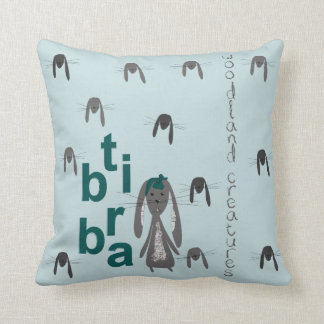 Rabbit Woodland Creature Cushion