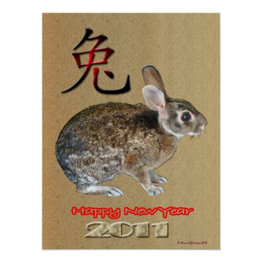 Rabbit  Year 2011 Poster