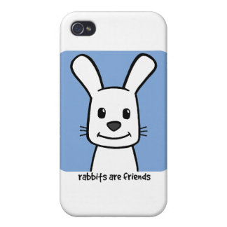 Rabbits Are Friends iPhone 4/4S Case