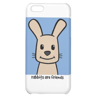 Rabbits Are Friends iPhone 5C Cases