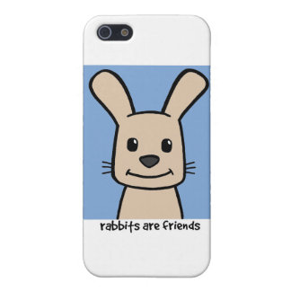 Rabbits Are Friends Cover For iPhone 5