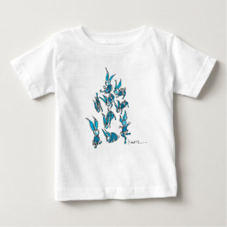 Rabbits Baby T-Shirt