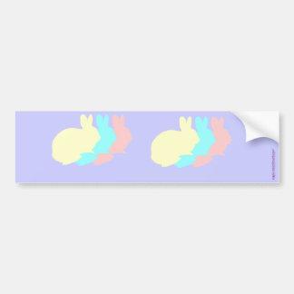 Rabbits, Bunnies or Easter Rabbits Bumper Sticker