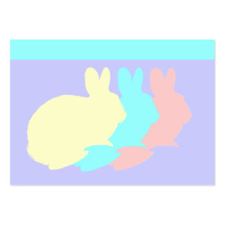 Rabbits, Bunnies or Easter Rabbits Large Business Cards (Pack Of 100)