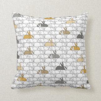 Rabbits Cushion