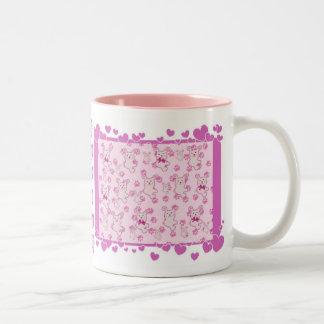RABBITS & HEARTS  Mug