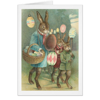 Rabbits Night Out Cards
