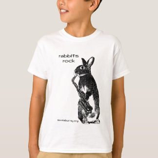Rabbits Rock! T-Shirt