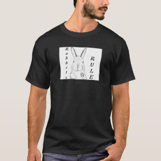 Rabbits Rule tshirt