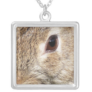 RABBITS SILVER PLATED NECKLACE