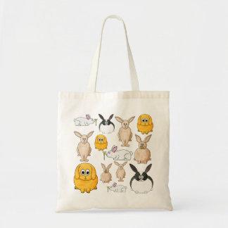Rabbits. Tote Bag