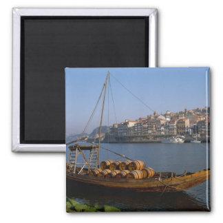 Rabelo Boats, Porto, Portugal Magnet