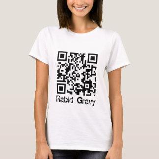 Rabid Gravy - QR Code T-Shirt