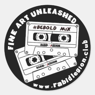 Rabid Legion Classic Round Sticker