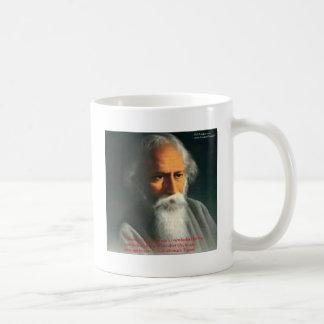 Rabindranath Tagore Love Quote Gifts & Cards Basic White Mug
