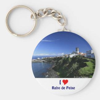Rabo de Peixe - Azores Key Ring