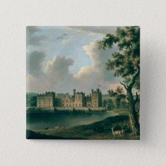 Raby Castle 15 Cm Square Badge