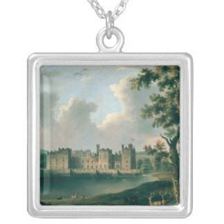 Raby Castle Silver Plated Necklace