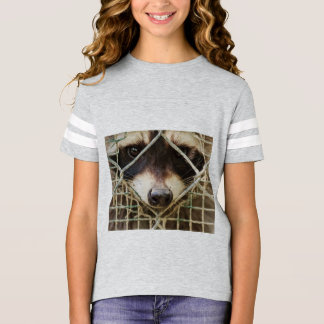 RACCON  Girls' American Football Shirt