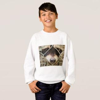raccon on Kids' Hanes ComfortBlend Sweatshirt
