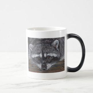 Raccoon #2 morphing mug