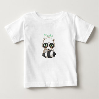 Raccoon and name of the boy baby T-Shirt