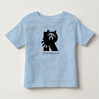 Raccoon Animal Alphabet T-shirts